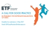 Call for good practice in training for internationalisation...