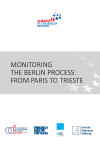 "[Working Paper ""Berlin Process Series] MONITORING ..."