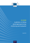 Guidelines on linking planning/programming, monitoring...