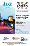 10th International Conference for Entrepreneurship...