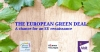 The European Green Deal: A chance for an EU renaissance...
